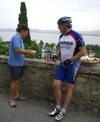 Sam in Tuscany, Italy