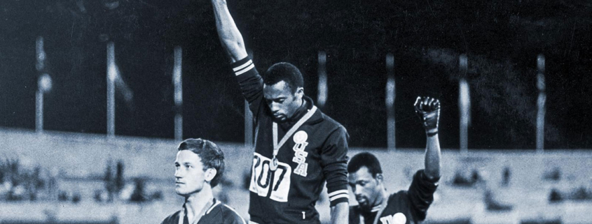 John Carlos and Tommie Smith