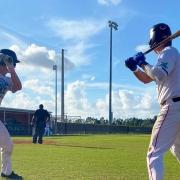 Wood Bat Baseball in Town